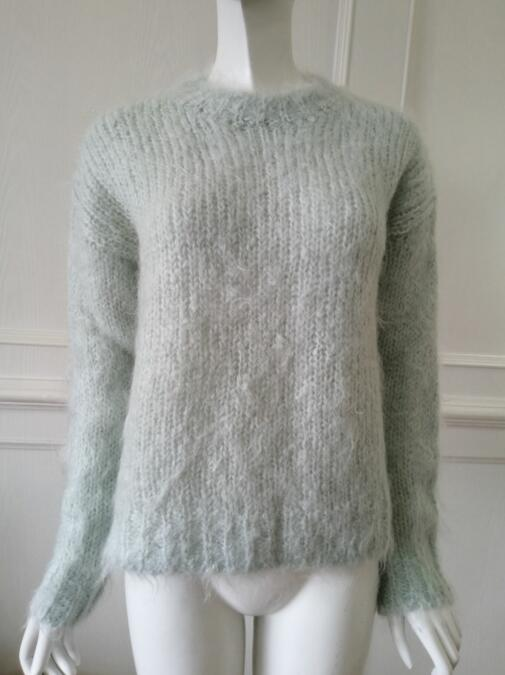 Womens knitted sweater pullover