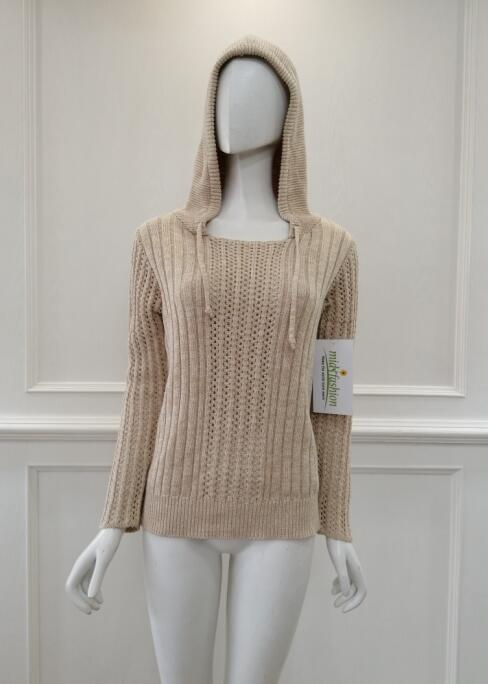 Women's knitted sweater knitwear coat