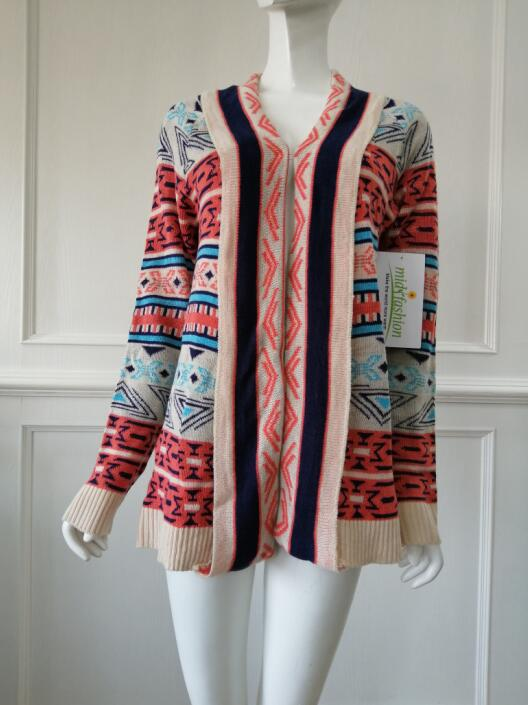 Women's knitted sweater cardigan