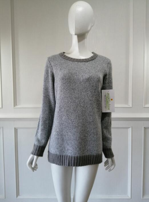 Women's knitted sweater knitwear pullover china