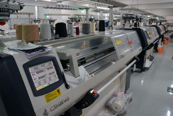Computer flat knitting machine for Kniweater & Sweater from China