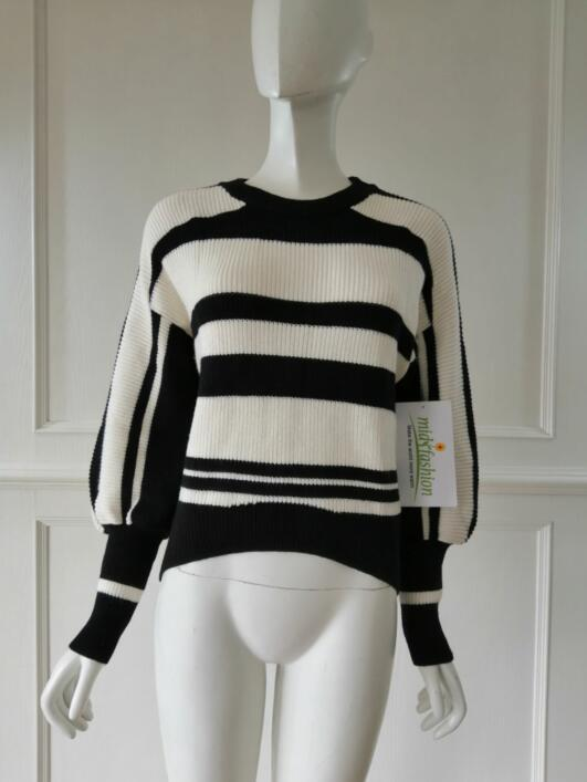 Women's knitted sweater pulover knitwear china