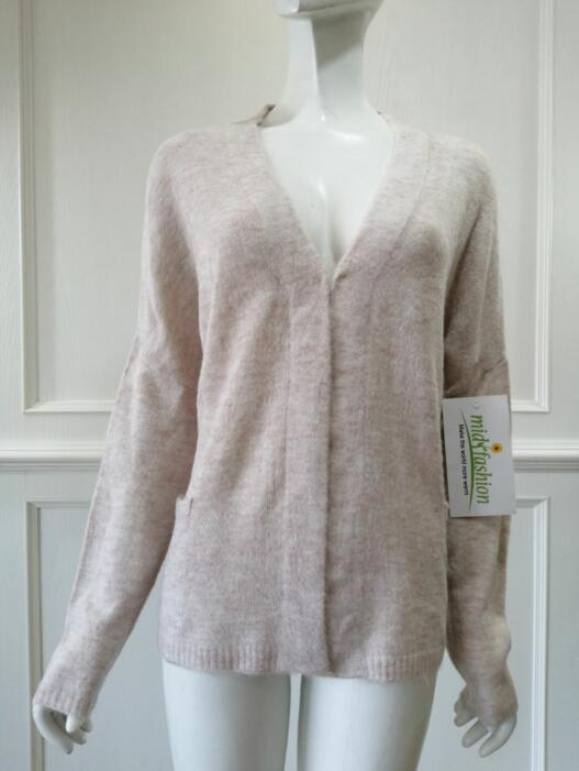 Women's knitted sweater cardigan knitwear china
