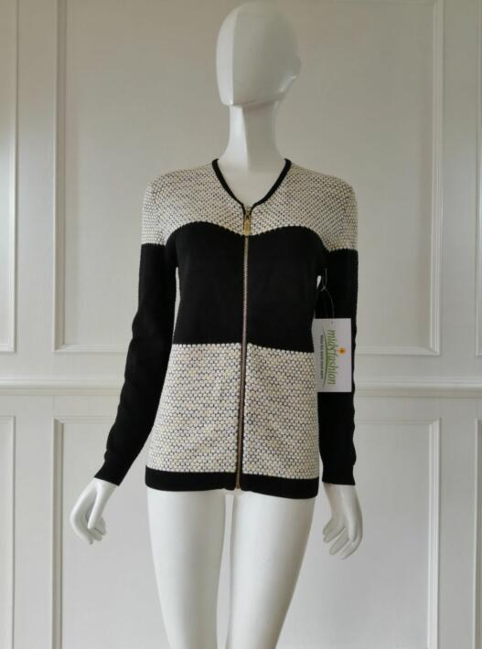 Women's knitted sweater cardigan coat knitwear china