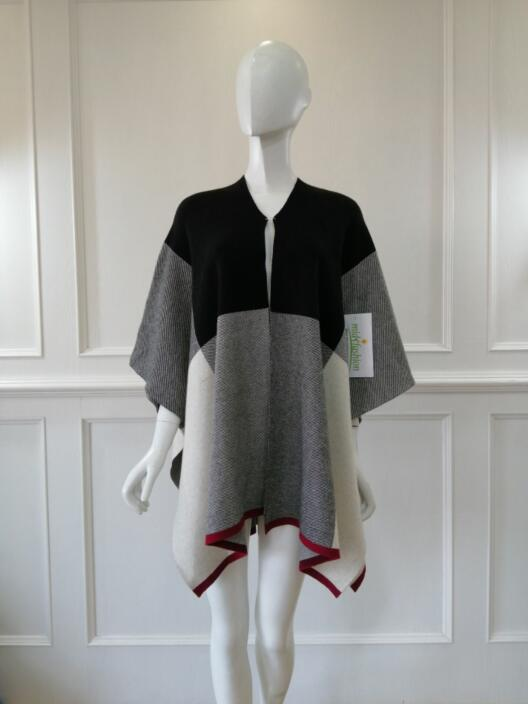 Women's sweater poncho china