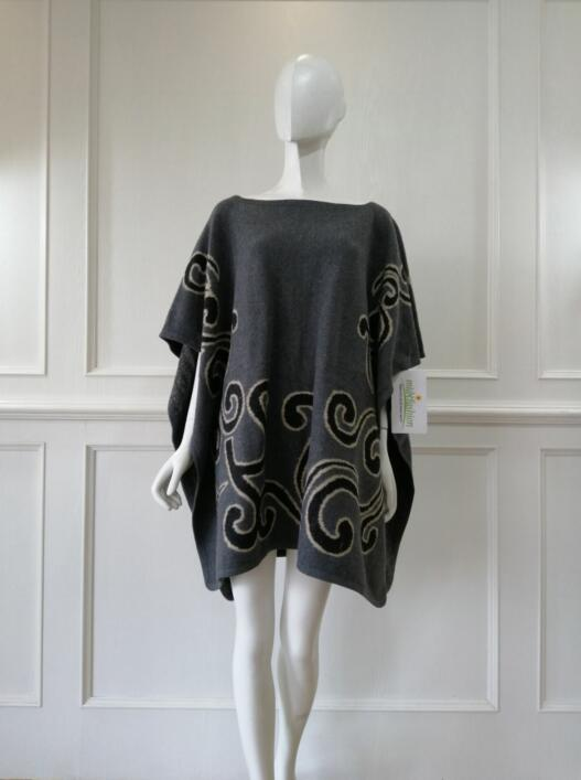 Knitted Poncho China Womens Sweater knit