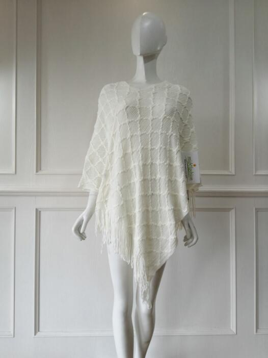 poncho pullover sweater China Womens Knitted
