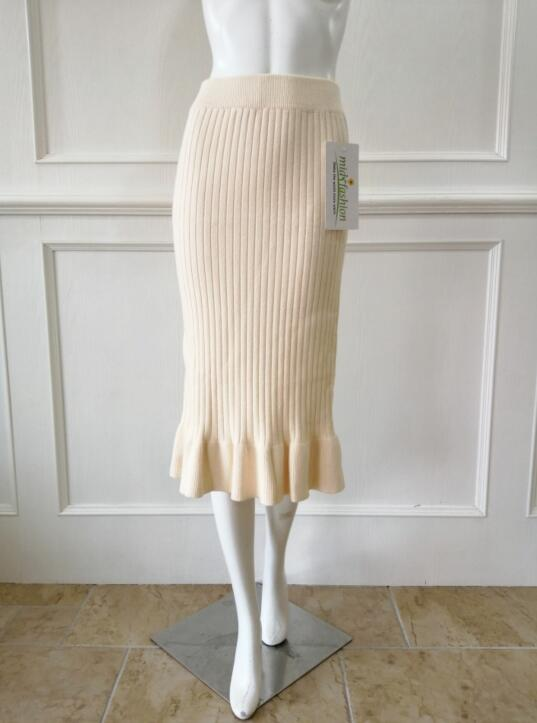 China knitwear Manufacturer dress knitwear Manufacturer China Womens knitted skirt long