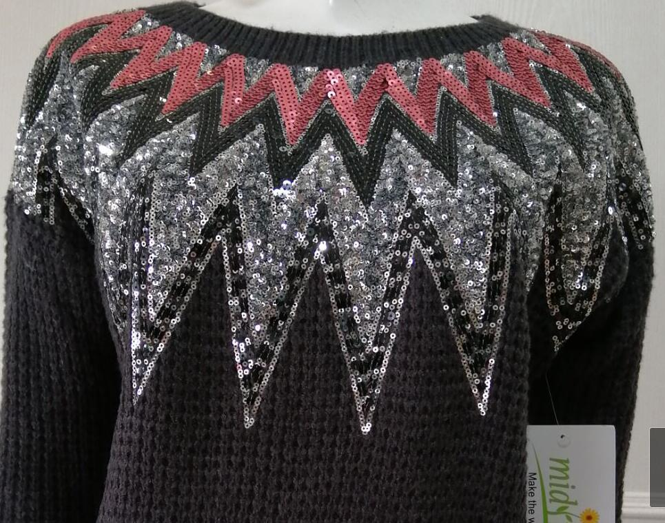 Sweater manufacturers in china womens Sequin Pullover