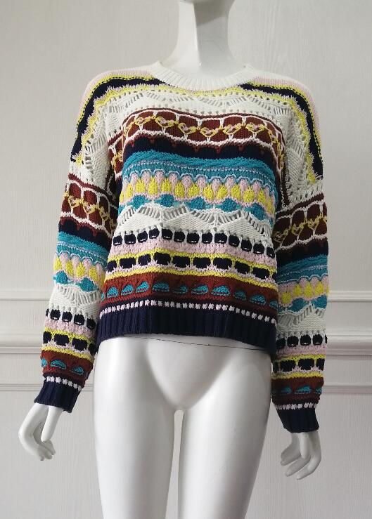 Pullover manufacturer knitted factory