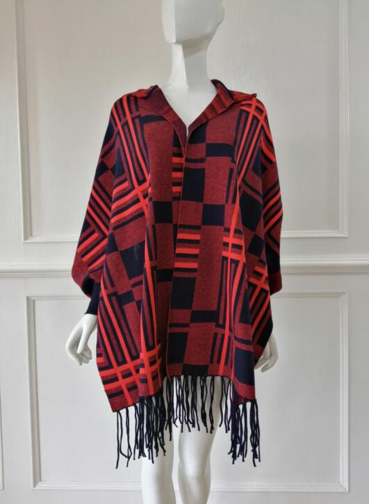Sweater manufacturer Poncho manufacturer customized in china